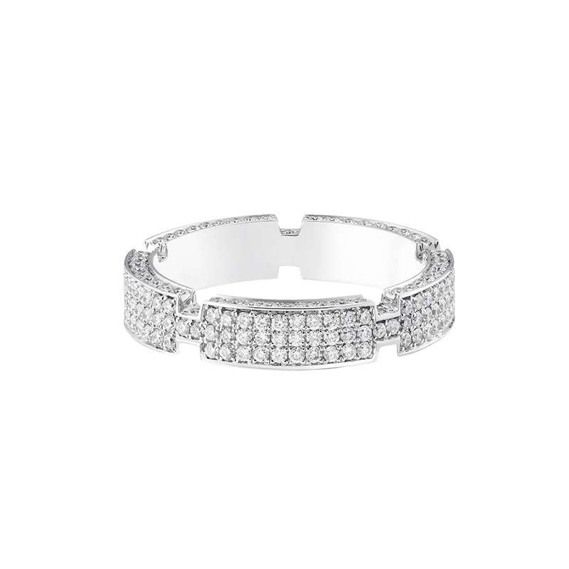 MECCANICO FULL PAVE RING
